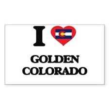I love Golden Colorado Decal