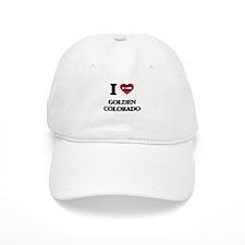 I love Golden Colorado Baseball Cap