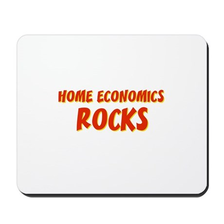 Home Economics~Rocks Mousepad