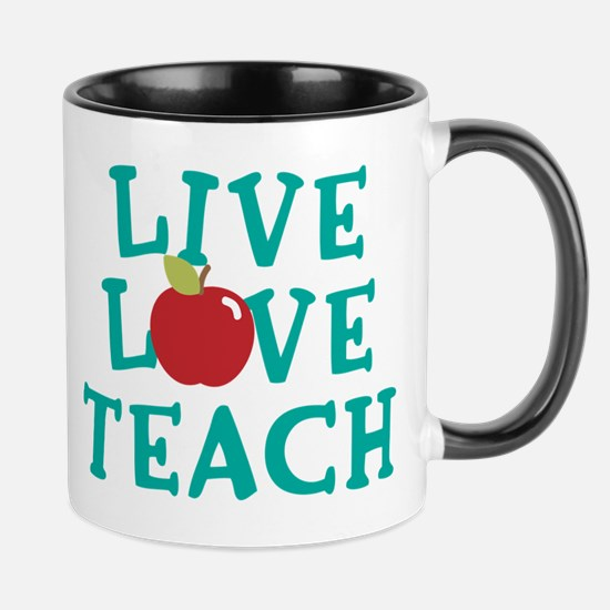 Live,Love, Teach Mug