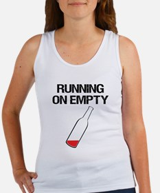 Running on Empty - Beer Bottle Tank Top