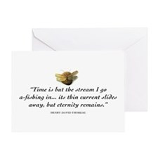 Fishing and eternity Greeting Card