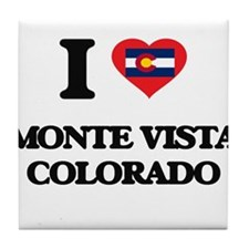 I love Monte Vista Colorado Tile Coaster