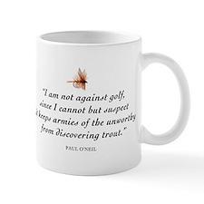 Not against golf... Coffee Mug