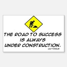 THE ROAD TO SUCCESS Decal