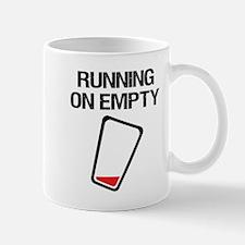Running on Empty - Beer Mugs
