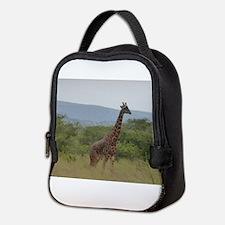 Giraffe of Akagera Neoprene Lunch Bag