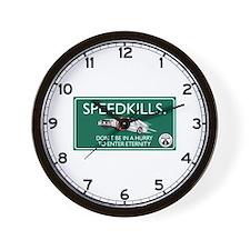 Speed Kills, Jamaica Wall Clock