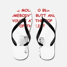 volleyball joke Flip Flops