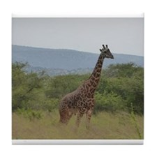 Giraffe of Akagera Tile Coaster