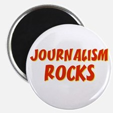 "Journalism~Rocks 2.25"" Magnet (10 pack)"