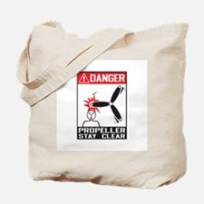 Propeller Stay Clear - Holland Tote Bag