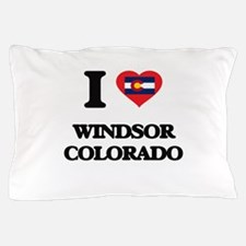 I love Windsor Colorado Pillow Case