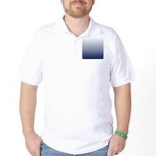 ombre navy blue T-Shirt