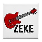 Guitar - Zeke Tile Coaster
