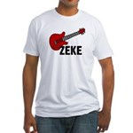 Guitar - Zeke Fitted T-Shirt