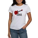 Guitar - Zeke Women's T-Shirt
