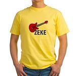 Guitar - Zeke Yellow T-Shirt