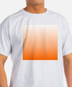 ombre Orange tangerine T-Shirt