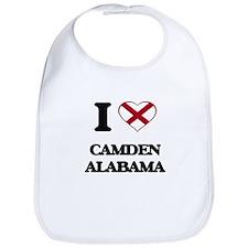 I love Camden Alabama Bib