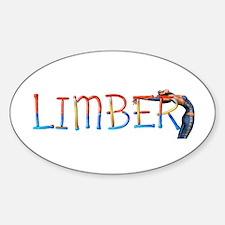 Limber Workout Sticker (oval)