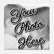 CUSTOM Your Photo Here Tile Coaster