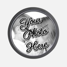 CUSTOM Your Photo Here Wall Clock