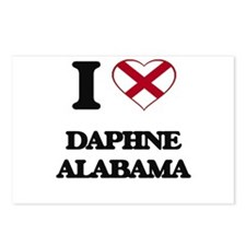 I love Daphne Alabama Postcards (Package of 8)