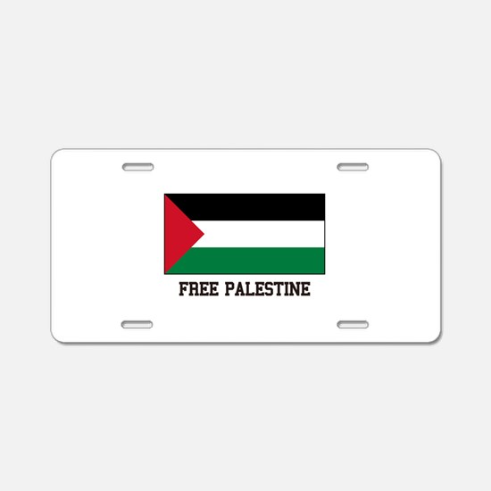 Palestine Princess Aluminum License Plate