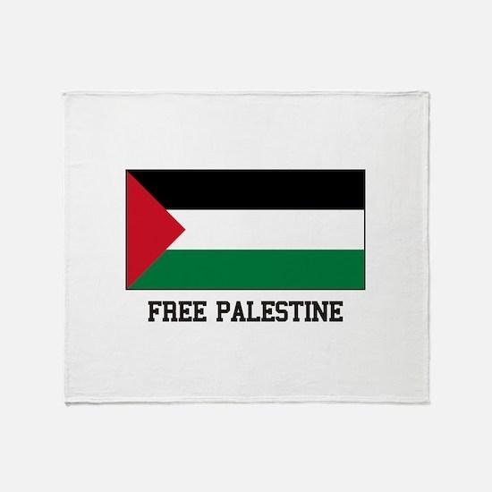 Palestine Princess Throw Blanket