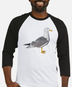 Yellow Legged Gull Baseball Jersey