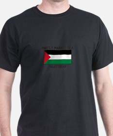 Happily Married to a Palestine T-Shirt