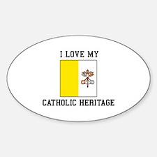 Catholic Heritage Decal
