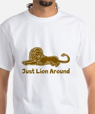 Lion Around (brown) T-Shirt