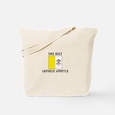 Catholic Apostle Tote Bag