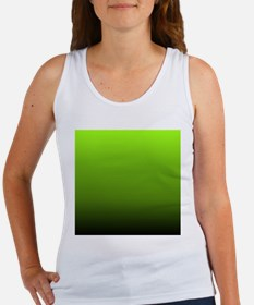 ombre lime green Tank Top