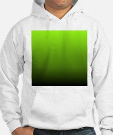 ombre lime green Hoodie