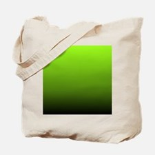 ombre lime green Tote Bag