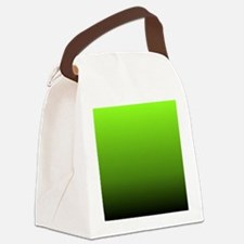 ombre lime green Canvas Lunch Bag