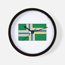 Portland, Oregon USA Wall Clock