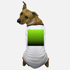 ombre lime green Dog T-Shirt