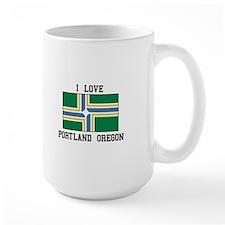 I Love Portland Oregon Mugs