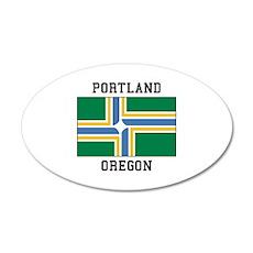Portland Oregon Wall Decal