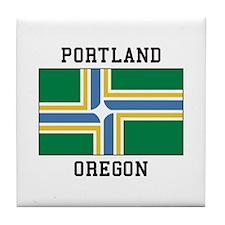 Portland Oregon Tile Coaster