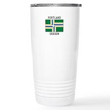 Portland Oregon Travel Mug