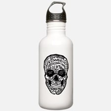 Radiology Terms Skull Water Bottle