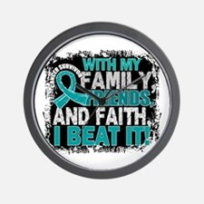 Gynecologic Cancer Survivor FamilyFrien Wall Clock
