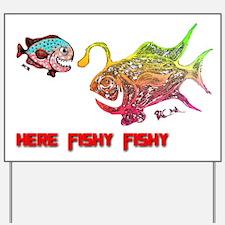 Here Fishy Fishy. Fish. Retro Tuna Fish RCM Yard S