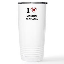 I love Marion Alabama Travel Mug
