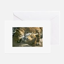 Cheetah Valentine's Day Greeting Card